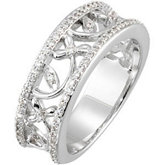 3/8 ct tw Diamond Anniversary Band