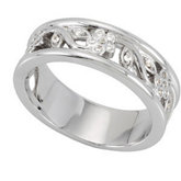 1/8 ct tw Diamond Anniversary Band