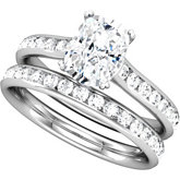 Engagement Mounting or Matching Band