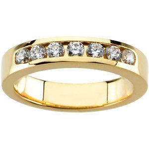 Diamond Semi-mount Engagement Ring, Base or Band