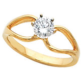 Engagement Ring Mounting & Band