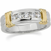 Men's 5-Stone Ring Mounting