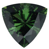 Trillion Genuine Green (Chrome) Tourmaline (Black Box)