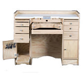 Ideal Solid Wood Jeweler's Bench