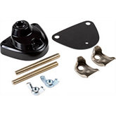 Dazor® Metal Cast Dual Black Clamp for Lamps
