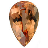 Pear Genuine Imperial Precious Topaz (Black Box Matched Sets)