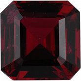 Modified Square Genuine Red Spinel (Black Box)