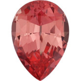 Pear Lab Created Padparadscha Sapphire