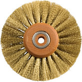 Brass Crimped Wire Brush, 4
