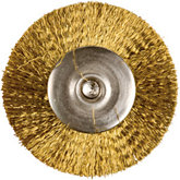 Mounted Brass Crimped Wire Brushes - 1
