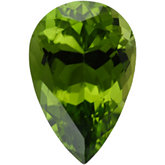 Pear Genuine Peridot (Black Box)