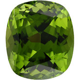 Antique Cushion Genuine Peridot (Black Box)