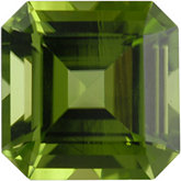 Modified Square Genuine Peridot (Black Box)