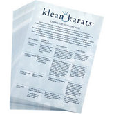 Klean Karats Caring for Your Purchase Cards