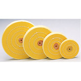 Yellow Treated Muslin Wheel Buff, 3