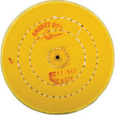 Yellow Treated Muslin Wheel Buff, 5