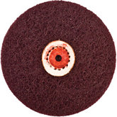 Satin Finish Wheel, Medium Grit, 2 Ply