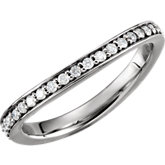 Diamond Stackable Ring or Mounting