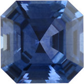 Royal Asscher Genuine Blue Sapphire (Black Box)