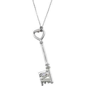 Love is the Key®  Diamond Necklace