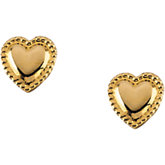 Youth Heart Earrings