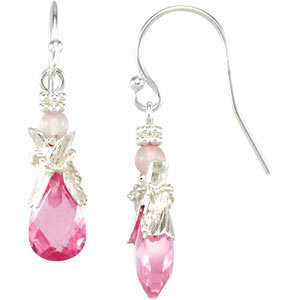 Youth Pink Drop Earrings