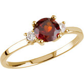 Youth Synthetic Birthstone Ring