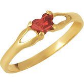 Youth Bfly® Imitation Birthstone Ring