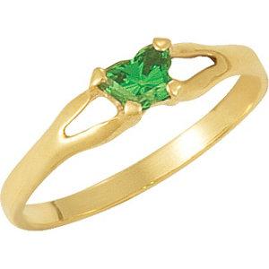 1 kt Yellow Bfly® May AZ<br> Birthstone Ring