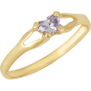 1 kt Yellow Bfly® June<br> AZ Birthstone Ring
