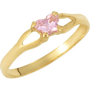 14kt Yellow Bfly®<br> October AZ Birthstone<br> Ring