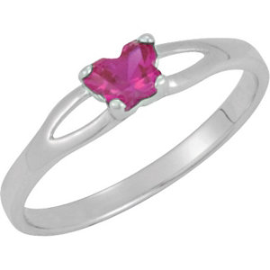 Sterling Silver Bfly®<br> July AZ Birthstone Ring