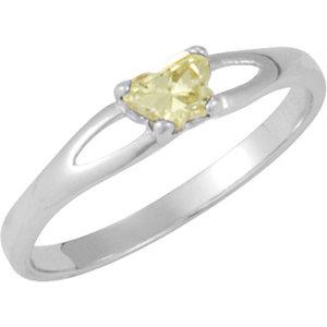 Sterling Silver Bfly® August AZ Birthstone Ring