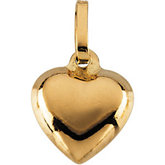 Youth Puffed Heart Pendant