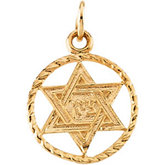 Youth Star of David Pendant