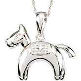 Hannah the Horse Waggles™ Necklace