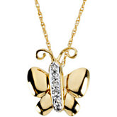 Betty the Butterfly Waggles™ Pendant