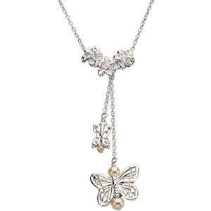 Youth Butterfly Necklace