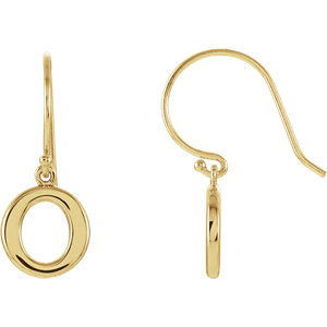 Petite Circle Earrings