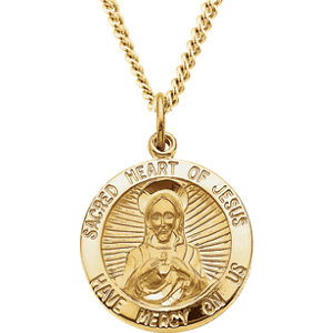 Sacred Heart of Jesus Medal
