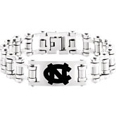 North Carolina Tar Heels Logo Bracelet