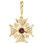Vintage-Inspired Cross Dangle Charm