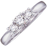 1/2 CTW Engagement Ring