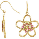 Floral Design Earrings