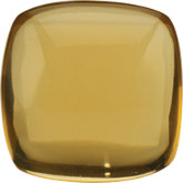 Antique Square Genuine Cabochon Honey Quartz
