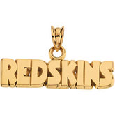 Washington Redskins NFL Name Pendant