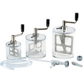Mix-It Set of Vacuum Mixing Bowls with Waterjet Vacuum Pump