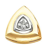 Pendant Slide Mounting for Triangle/Trillion Shape Center