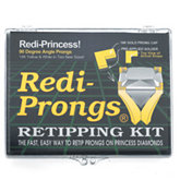 Redi-Prongs® 14K Princess Retipping Kit