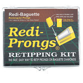 Redi-Prongs® 14K Baguette Retipping Kit